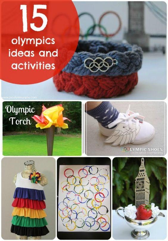 15 Olympic Themed ideas - Tatertots and Jello #olympics