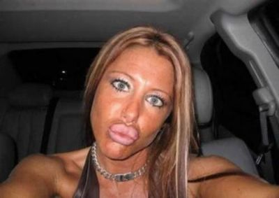 Enough of the God damn duck face! you look like an idiot!