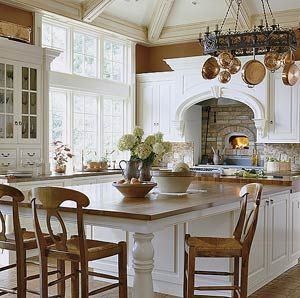 Wood Countertops Countertops And Kitchen Fireplaces On Pinterest