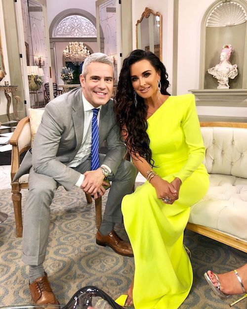 Kyle Richards Is Dressed To Impress On The Rhobh Reunion Kyle