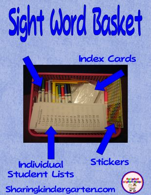 How to check off sight words and create instant data. Plus a freebie.