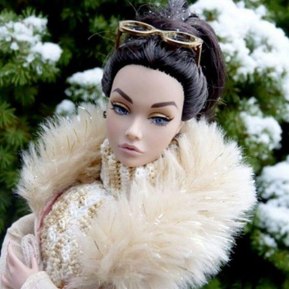 #barbie #snow #fur