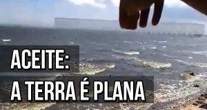 Homem prova teoria da Terra Plana usando apenas uma régua