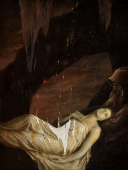 Image result for give up the ghost painting