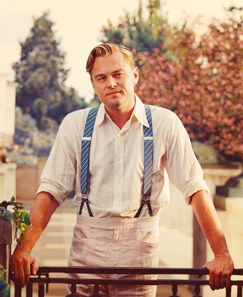 Leonardo DiCaprio as Jay Gatsby in 'The Great Gatsby' (2013)