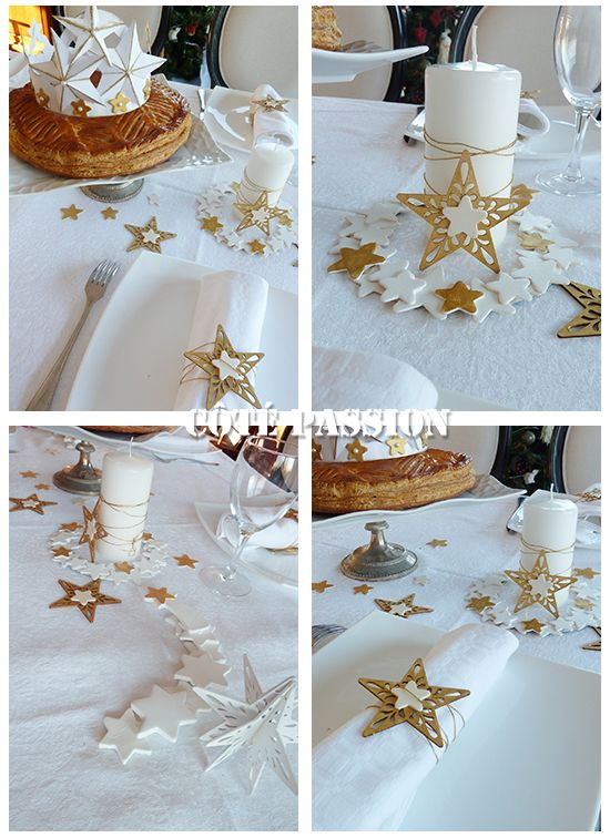 Tables and bricolage on pinterest for Decoration epiphanie