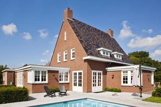 jaren dertig geïnspireerde woning  royale villa in jaren dertig ...