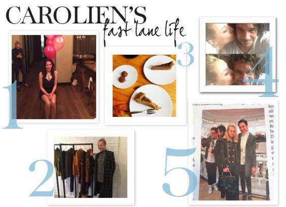 Weer een nieuwe, drukke week van Carolien. Met het feestje van Halina Reijn en het nog steeds onopgeloste mysterie rond dé koffer…