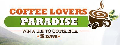 Café Britt Coffee Lovers Paradise Contest 2014