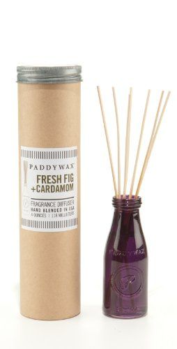 #Paddywax Fresh Fig and Cardamom Relish Glass Reed #Diffuser #whimsicalumbrella
