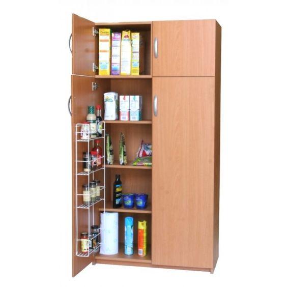 Alacena estocolmo caf muebles para departamento pinterest for Alacenas para cocina