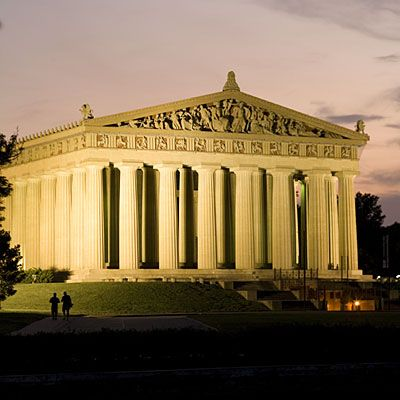 """The Parthenon is listed in Southern Living's """"Must-See Sites in Nashville"""""""