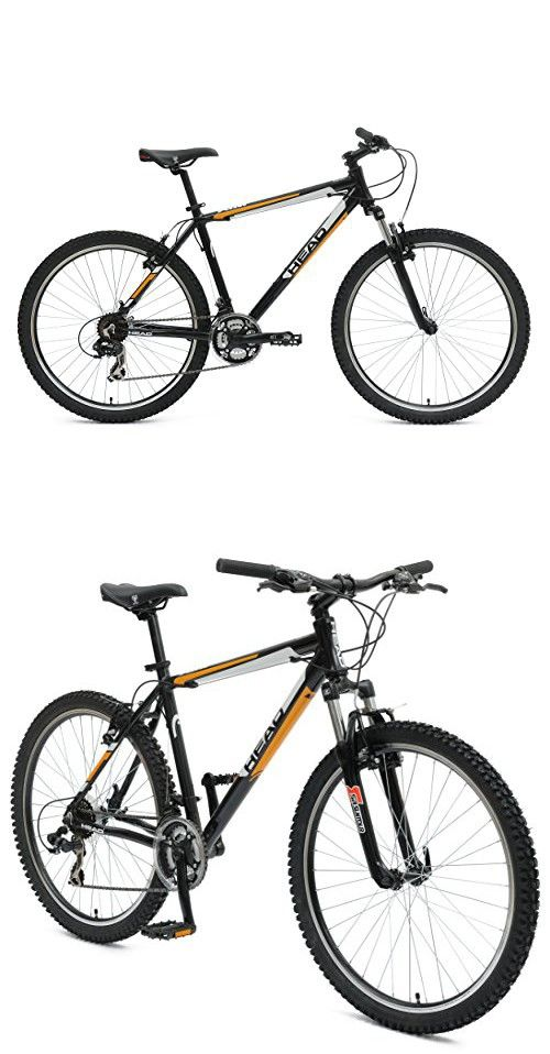 Head Aim X Mountain Bike 26 Inch Wheels 21 Inch Frame Black Orange Bike Mountain Biking Orange Black