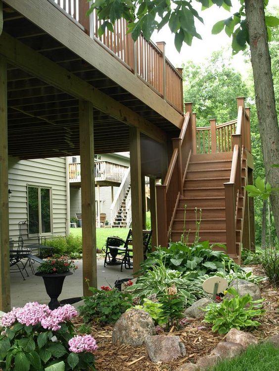Best Patio Under Decks Perennials And Outdoor Living On Pinterest 400 x 300