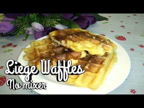 Resep Liege Waffles No Mixer Liege Waffles Recipe Umie S Food Youtube Makanan Resep Waffle