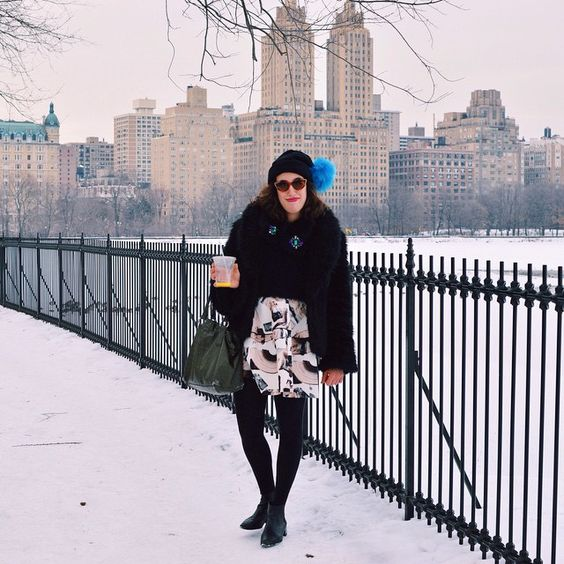 The first New York style story is on the blog! Check out my winter wonderland Central Park outfit ❄️ on www.aliceroxy.blogspot.com #blogged #stylestoriesbyaliceroxy #nyc #outfit #fblogger