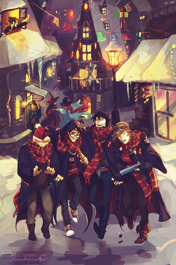 Magical Harry Potter fan art!