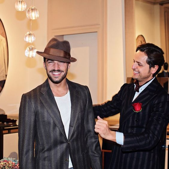 had the pleasure to receive my dear friend @marianodivaio and alot of surprises are on the way for Pitti.