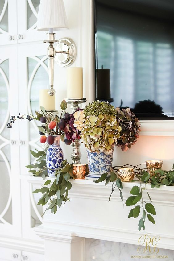 Fresh Ideas for Fall Home Tour - Elegant Fall Decor - Randi Garrett Design