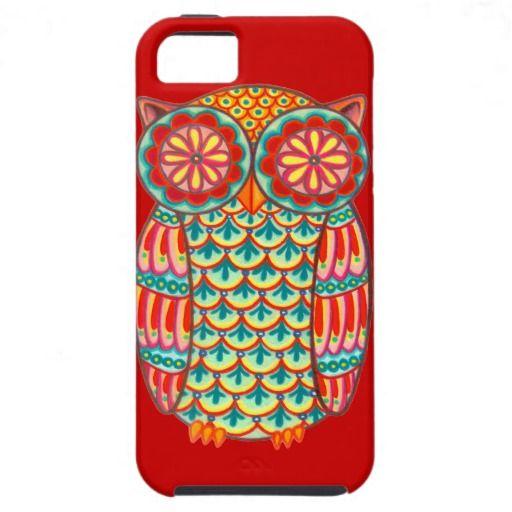 Retro Owl Groovy iPhone 5 Vibe Case $47.05