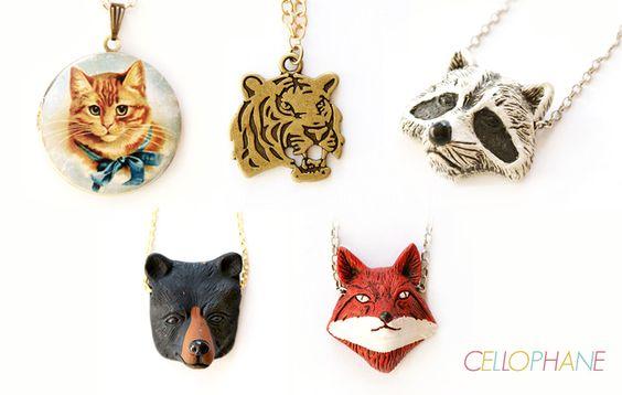 Inspiração: Animal Face - Cellophane Blog
