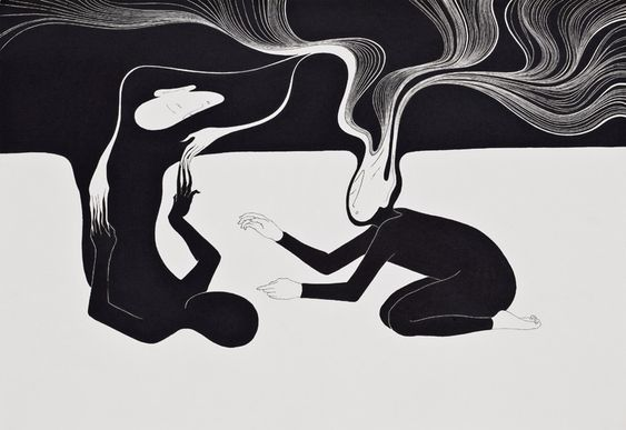 I always go back to me. Moonassi drawing, Daehyun Kim (Illustration):