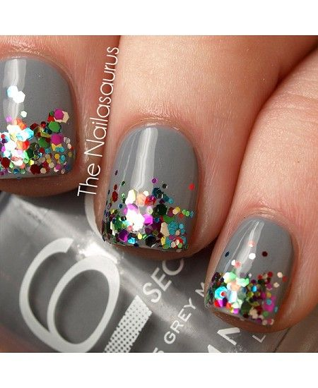 Gliteratti Party: 15 of the best sparkly mani's from the interwebs - dropdeadgorgeousd...