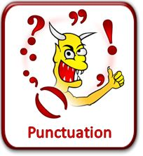 Lessons on punctuation, eight parts of speech, abbreviations, comparatives, numbers, plurals, etc.