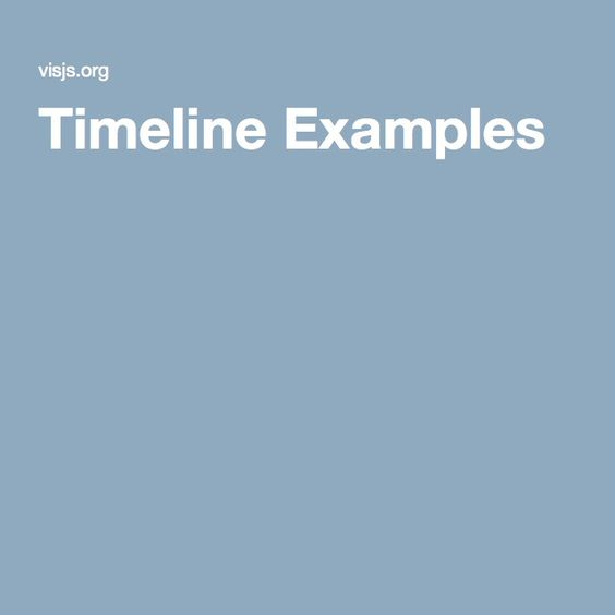 Timeline Examples JavaScrip JavaScript and More Pinterest - timeline examples