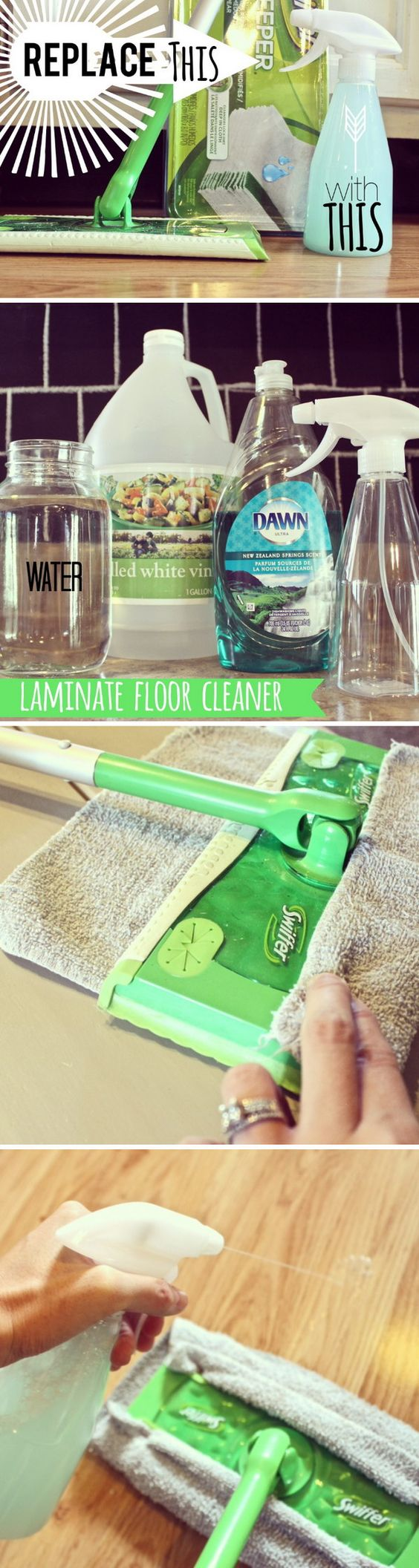 Homemade Laminate Floor Cleaner.