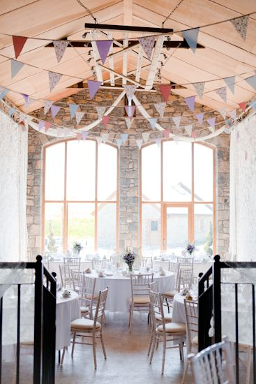 Our Rustic Bunting Up At Rosedew Farm Llantwit Major Pic Courtesy Of Francesca Hill Wedding Ideas Pinterest Farming Venues And