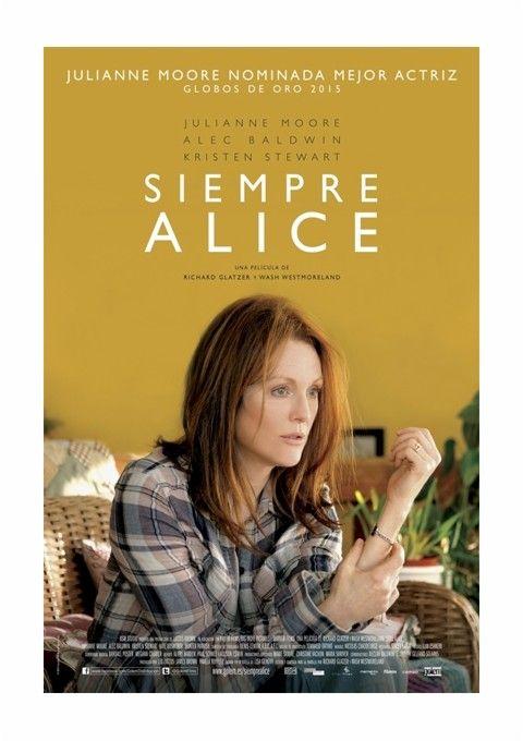 Siempre Alice [Vídeo (DVD)] / una película de Richard Glatzer y Wash Westermoreland. Cameo Media, cop. 2015