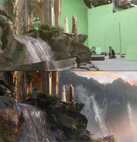 Can anyone suggest a film with groundbreaking special effects before CGI?