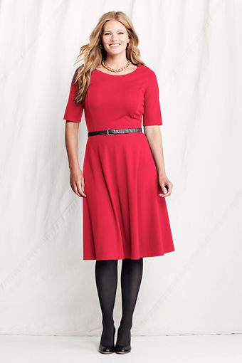 Elbow sleeve pont 233 boatneck dress here try this on pinterest