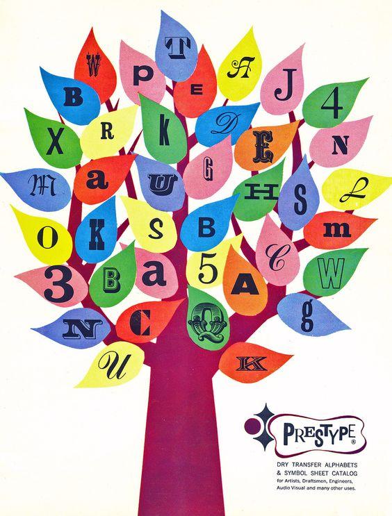 1966. PresType catalog cover. Unknown artist