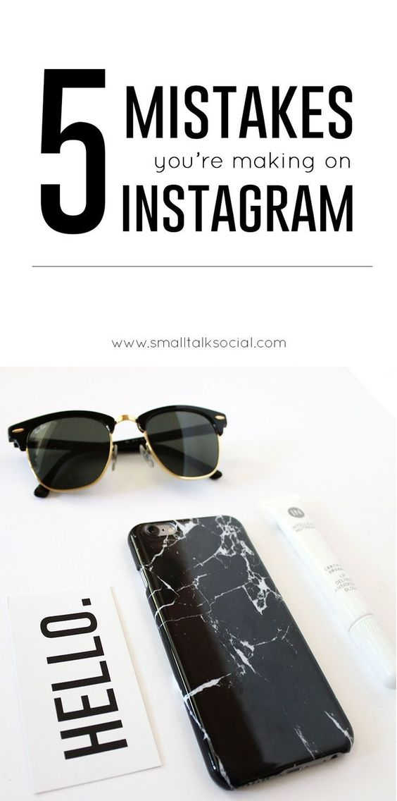 """Are you making some of these common mistakes on your businesses Instagram account? Find out how to fix them + also download your FREE """"How to Hashtag"""" guide so your content can be found by your target market!!   Small Talk Social"""