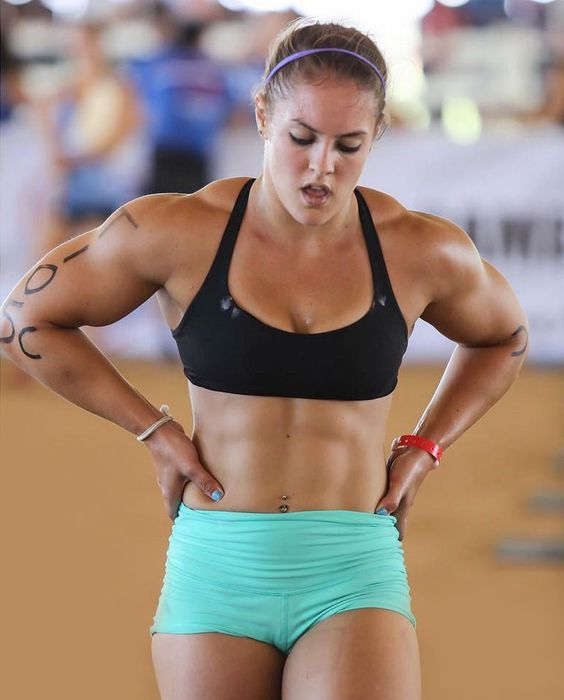 Women Sexy Build Strong Muscle 23