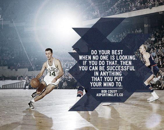 #bobcousy #sportsquotes #basketball