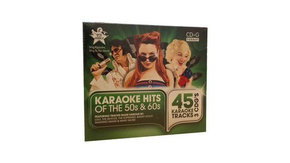 Sing To The World Karaoke - Hits Of The 50s & 60s 3 Disc Box Set (RRP £19.99)