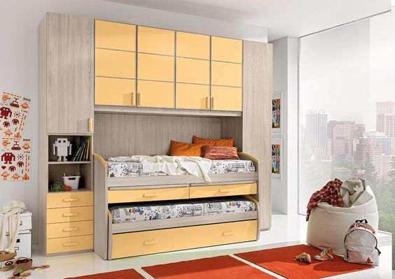 Arcadia camerette ~ Risultati immagini per camerette con letti gemelli camerette