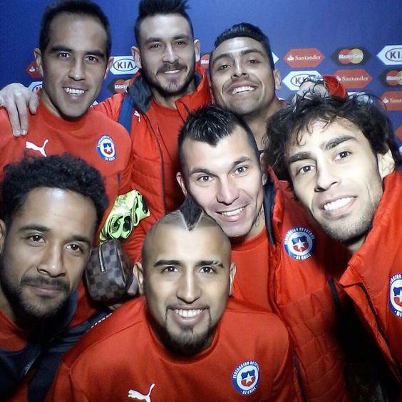 Así llegó la Selección Chilena al Estadio Nacional para la final de la Copa América 2015