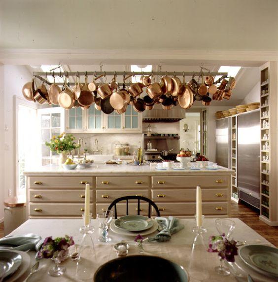 Martha Stewart's Turkey Hill kitchen