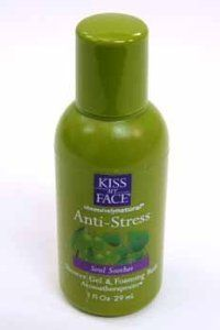 Kiss My Face Anti-Stress Shower Gel Case Pack 144 Kiss My Face Anti-Stress Shower Gel Case Pack 144 by Kiss My Face. $381.00. Picture may wrongfully represent. Please read title and description thoroughly.. Brand Name: Kiss My Face Mfg#: 362379. Shipping Weight: 13.44 lbs. Please refer to SKU# ATR4738260 when you inquire.. This product may be prohibited inbound shipment to your destination.. Kiss My Face Anti-Stress Shower Gel 1 fl oz plastic bottle. Case Pack 144 ...