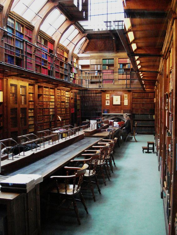 Anson Reading Room, Codrington Library, All Souls College, Oxford (photo by Indiana Jonsmo):