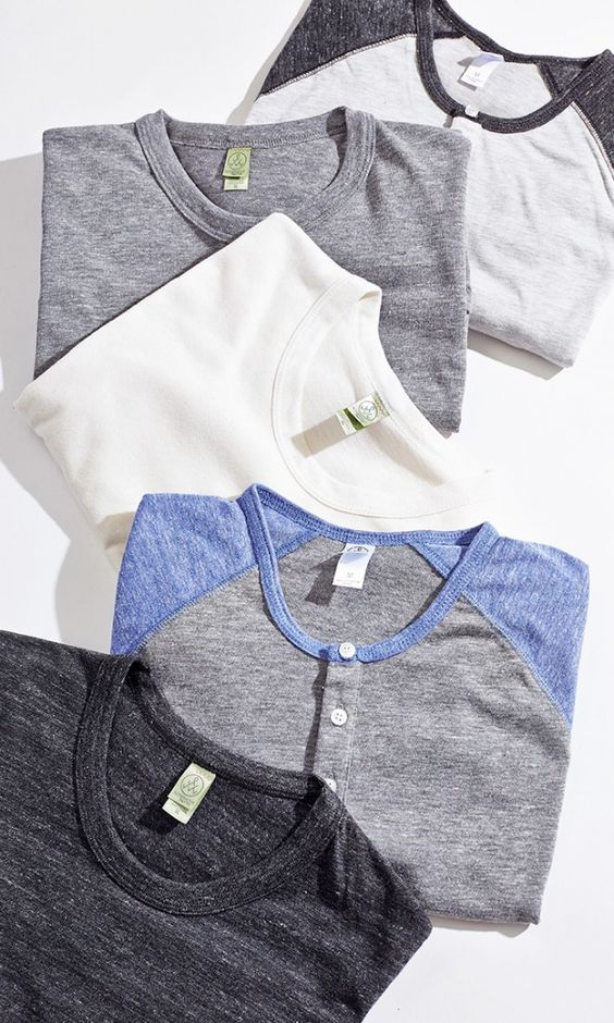 Soft, Comfortable Fitted Men's Tees - Casual, Yet Rugged