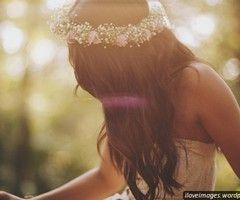 Arranjo de cabelo de noiva: Wedding Idea, Wedding Hair, Hairstyle, Hair Style, Flowercrown