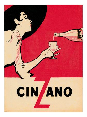 Cinzano vermouth: