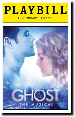 #Ghost - The Musical #Playbill