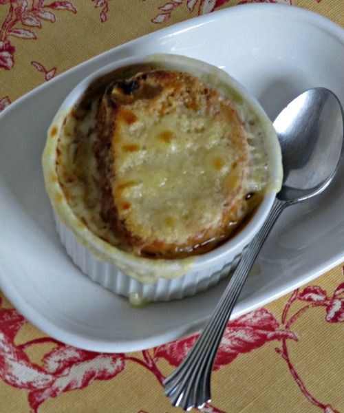 Pine Cones and Acorns: French Onion Soup