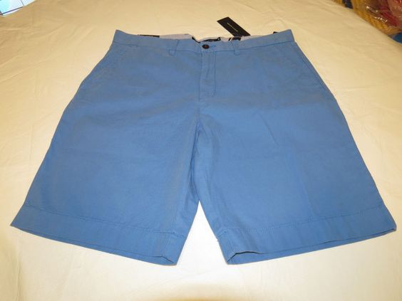 Men's Tommy Hilfiger 36 Classic Fit shorts 435 bright blue 7880825 casual TH #TommyHilfiger #shorts